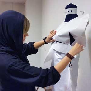 طراحی لباس کاشانه هنر