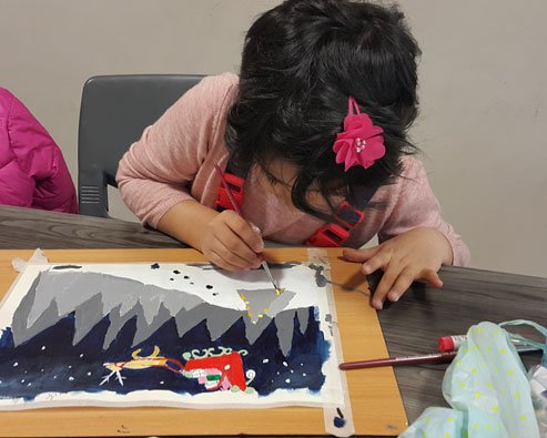 کارگاه نقاشی کودک 2