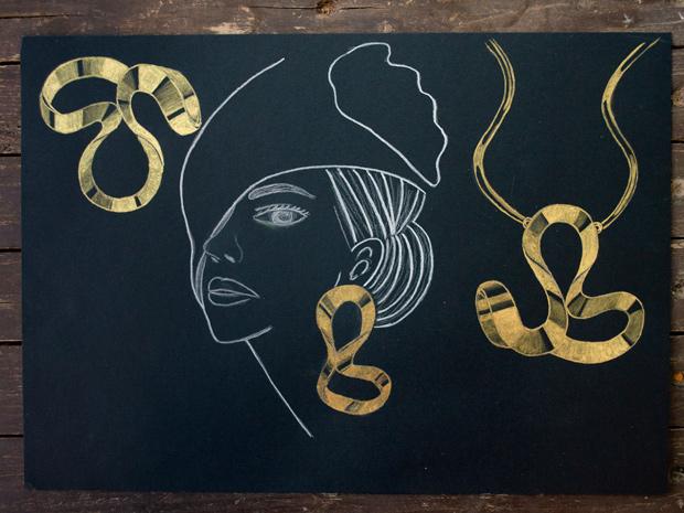 طراحی طلا