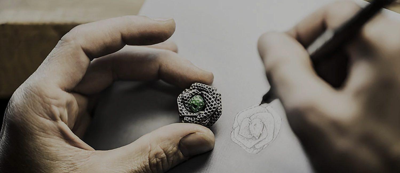 طراحی طلا و جواهرات قسمت پایه