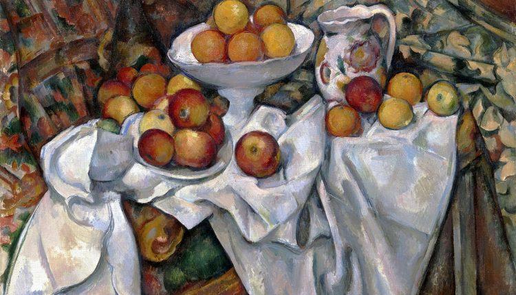 سیب ها وپرتقال ها پل سزان -1895-1900